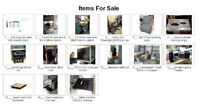 """16"""" Electric Chainsaw, other house. Items, Sat. 27June 11am -130"""