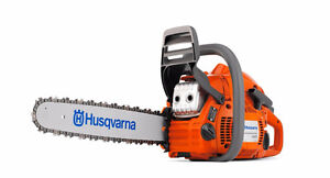 "Brand New - HUSQVARNA CHAINSAW (445) 18"" - 46CC - GAS - $380"