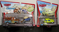"""Mattel  """"Cars"""" vehicles - Never opened- Mater, Zen, and Acer"""