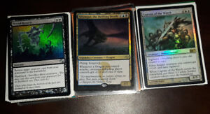 Selling 100 Foil Magic The Gathering Cards (Includes Rares)