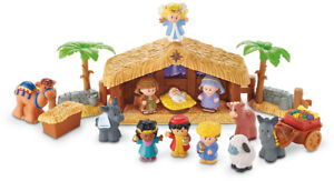 FISHER PRICE - Little People Christmas Story - LIKE NEW