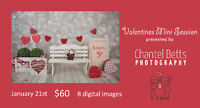 Valentines Mini Sessions - Photography