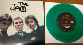 The jam in the city live Ep green vinyl single mint