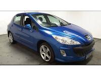 2007(57)PEUGEOT 308 1.6 SPORT MET BLUE,LONG MOT,CLEAN CAR,PLEASE READ AD!