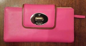"KATE SPADE ""Turnlock Stacy"" Wallet (Brand New)"