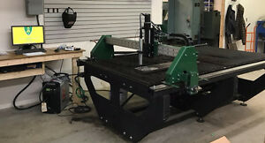 Fab-Cut 4x4 or 4x8 CNC plasma cutting system