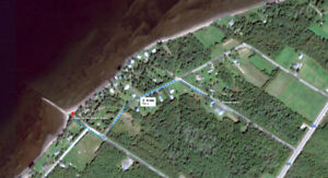 Property 1.5 acre (approx.) with camp for Sale in Bay du Vin
