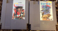 $80 · NINTENDO CONTRA AND CONTRA SUPER C BOTH IN PROTECTIVE CASE