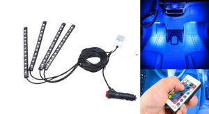 Wireless Remote Car RGB LED Interior Atmosphere Lights