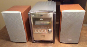 JVC Mini Component System.Stereo Model CA-FSS57 w/speakers
