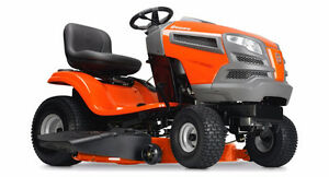 Are you ready for Summer? Husqvarna Ride-On Mowers are here!