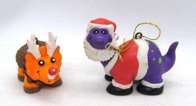 Dinosaur Christmas (Dinosaur Christmas Ornaments House of Lloyd Dino Holidays 1993 Lot of 2)