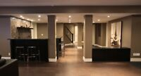 MODERN BASEMENT MAKEOVERS - WE CAN HELP !