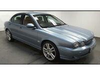 2006(06)JAGUAR X TYPE 2.2D SPORT MET BLUE,HALF LEATHER,6 SPEED,BIG MPG,NEW MOT,CLEAN CAR