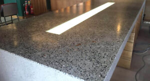 Custom concrete tables , countertops and much more!!!
