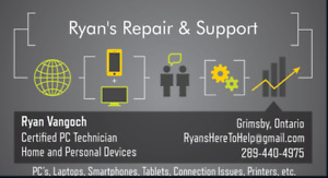 Computer, Laptop, and Home Device Repair & Support