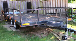 Tandem Axle ATV trailer with electric brakes