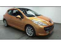 2007(07)PEUGEOT 207 1.6 GT HDi 110BHP MET ORANGE,LOW MILES,FSH,LOVELY CAR,GREAT VALUE