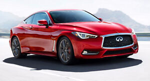 2017 Infiniti Other Q60 Red Sport 400 Coupe AWD