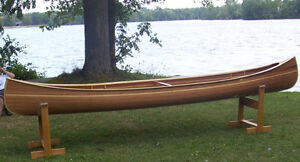 16 Foot Handmade Cedar Strip Canoe - $1500 or best offer