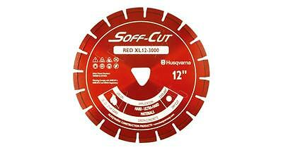 Husqvarna Excel 3000 12 Red Soff Cut Ultra Early Entry Diamond Blade -fast Ship