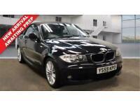 2010 59 BMW 1 SERIES 2.0 120D M SPORT 2 DOOR CONVERTIBLE DIESEL BLACK