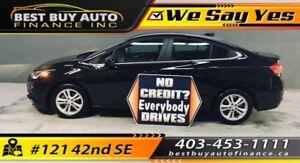 2017 Chevrolet Cruze 4dr Sdn Auto LT $109 bi-weekly 9,600kms !!!