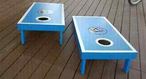 Blue Jays Handcrafted Cornhole Bean Bag Toss Game Kitchener / Waterloo Kitchener Area image 5