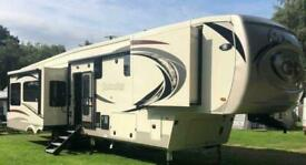 Columbus 383FB 5th Wheel American Caravan 4 Slides Showmans Trailer Static RV