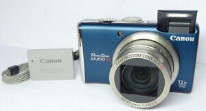 Canon PowerShot SX200 IS 12.1 MP Digital Camera HD 12x London Ontario image 5