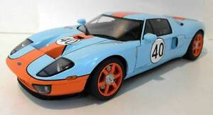 AUTOart Ford GT Gulf Blue With Orange Stripes 1/18 Scale Wantirna Knox Area Preview