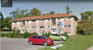 One Bedroom Unit in Kitchener for Lease.