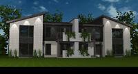 Condos moderne et luxueux de 2 chambres (1250 pieds carrés)