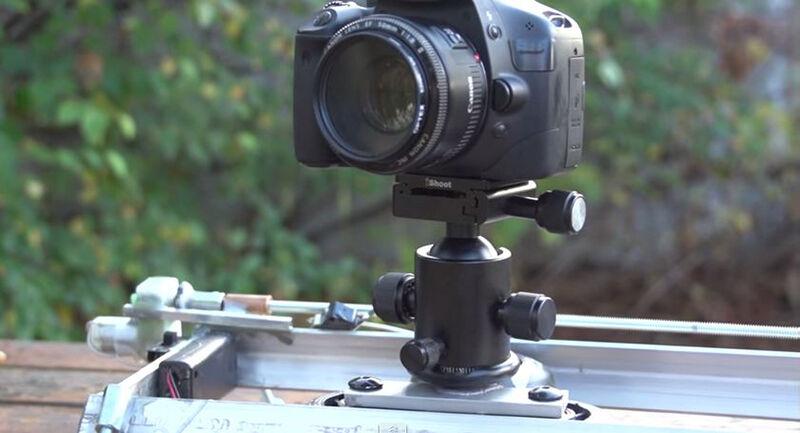 20 diy motorized timelapse slider ebay for Motorized camera slider timelapse
