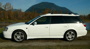 * Manual 5 speed * AWD Subaru Legacy GT-B Wagon JDM