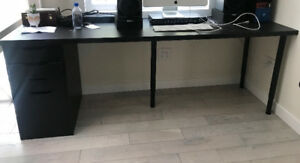 NEW Assembled IKEA Desk for Sale