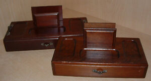 Men's dresser jewellery and wallet holders