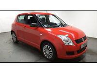 2010(10)SUZUKI SWIFT 1.3GL BRIGHT RED,2 OWNER,CLEAN CAR,GREAT VALUE