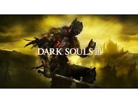 Dark souls 3 ps4 game wanted