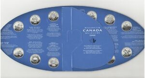 2000 Millennium RCM Oval Board w/coins Peterborough Peterborough Area image 2