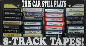 8 Track Tapes  60's - 70's - Classic Rock