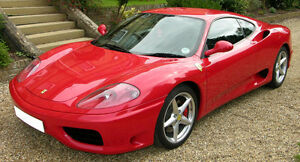2000 Ferrari 550, 360,430 or a LAMBO MURCI---COUPES ONLY PLEASE