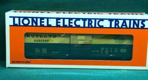 Lionel O Gauge #6-19277 Rutland 6464 Series Boxcar NIB