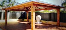 Carpenter Decking Patio Pergola Carport Builder Cedar Carpentry Midland Swan Area Preview