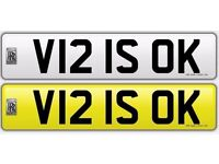 Great Number Plate for Sereph's, Wraith's, Ghost's, Phantom's, BMW's & Merc's.