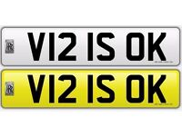 Great Number Plate for Sereph's, Wraith's, Ghost's, Phantom's, BMW's & Merc's. £13.750