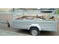 Trailer with accessories