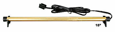 """Golden Rod 18"""" inch Dehumidifier Protects Gun Safe Boat RV from Humidity Mold"""