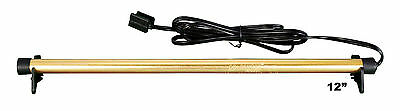 """Golden Rod 12"""" inch Dehumidifier Protects Gun Safe Boat RV from Humidity Mold"""