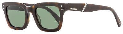 Diesel Rectangular Sunglasses DL0231 52N Dark Havana  51mm (Shades Diesel)